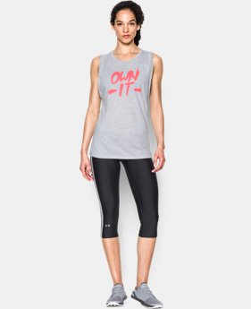 Women's UA Own it Muscle Tank LIMITED TIME: FREE SHIPPING 1 Color $29.99