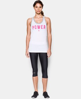 Women's UA Power In Pink® Fearless Favorite Tank LIMITED TIME: FREE U.S. SHIPPING 1 Color $20.99