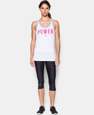 Women's UA Power In Pink® Fearless Favorite Tank   $27.99