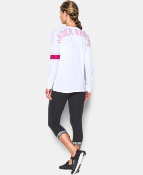 Women's UA Power In Pink® Favorite Long Sleeve LIMITED TIME: FREE SHIPPING 2 Colors $44.99