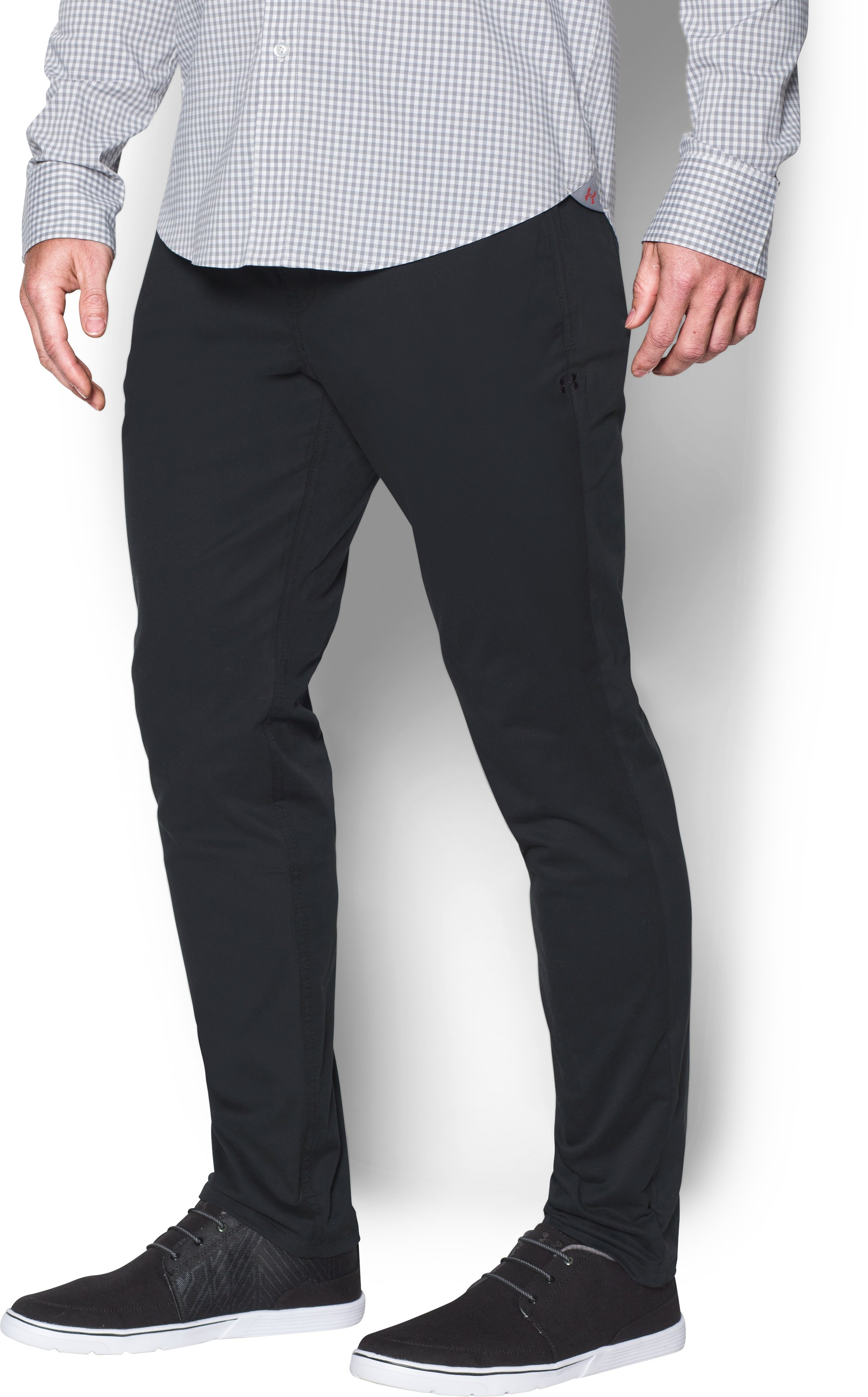 Men's UA Performance 5-Pocket Tapered Chino , Black