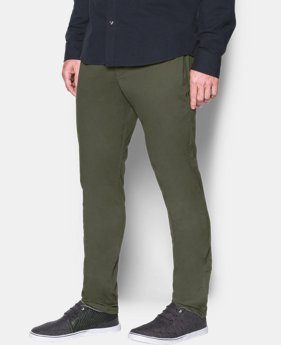 Men's UA Performance 5-Pocket Chino   2 Colors $89.99