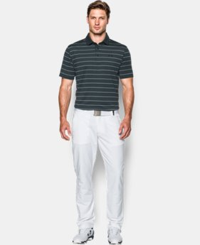 Men's UA coldblack® Swing Plane Stripe Polo  1 Color $69.99