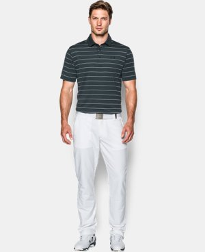 Men's UA coldblack® Swing Plane Stripe Polo  1 Color $52.99 to $79.99