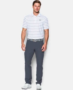 Men's UA coldblack® Swing Plane Stripe Polo  1 Color $59.99