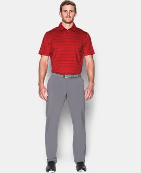 Men's UA coldblack® Swing Plane Stripe Polo LIMITED TIME: FREE U.S. SHIPPING  $39.74 to $52.99