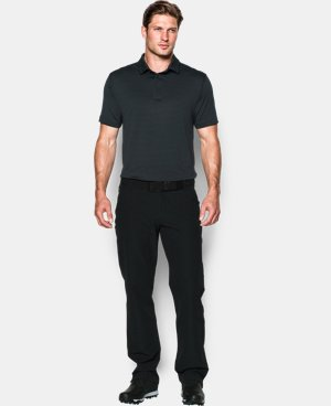 Men's UA coldblack® Tee Time Stripe Polo   $69.99