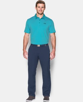 Men's UA coldblack® Tee Time Stripe Polo  3 Colors $69.99