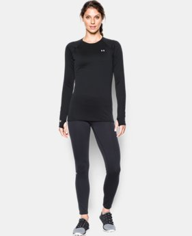 Women's UA Base™ 1.0 Crew Long Sleeve  1 Color $37.49