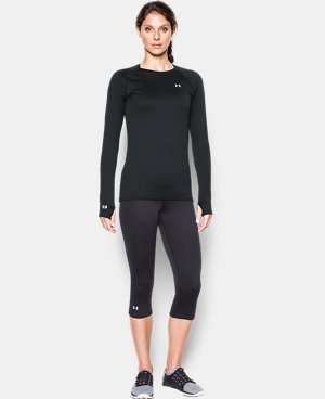 Women's UA Base™ 2.0 Crew LIMITED TIME: FREE SHIPPING 1 Color $48.74