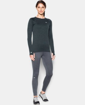 New Arrival  Women's UA Base™ 2.0 Crew LIMITED TIME: FREE SHIPPING 1 Color $48.74