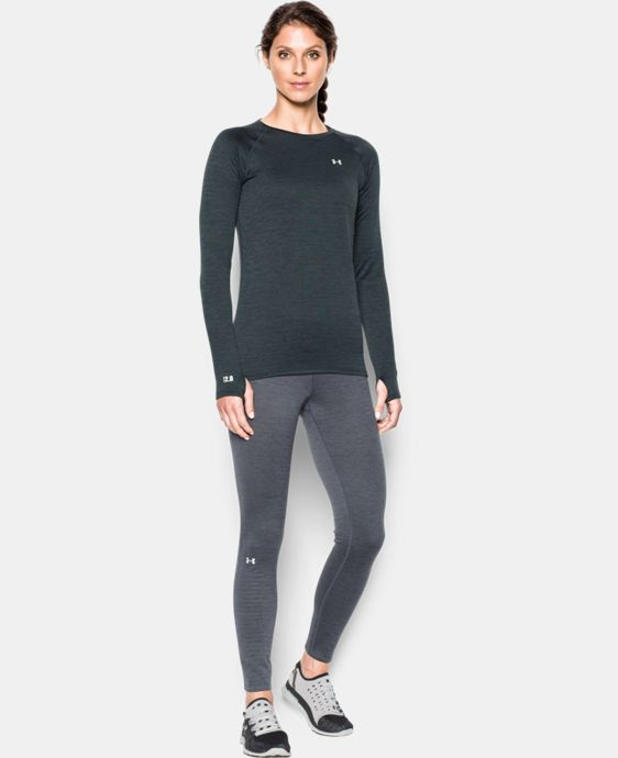 Women's UA Base™ 2.0 Crew LIMITED TIME: FREE SHIPPING 2 Colors $48.74