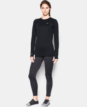 Women's UA Base™ 3.0 Crew Long Sleeve LIMITED TIME OFFER + FREE U.S. SHIPPING 1 Color $56.24