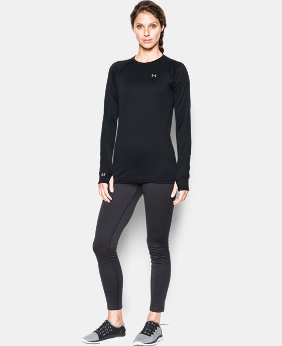 Women's UA Base™ 3.0 Crew Long Sleeve LIMITED TIME: FREE SHIPPING 1 Color $67.49