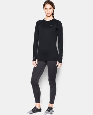 Women's UA Base™ 3.0 Crew Long Sleeve LIMITED TIME: FREE SHIPPING 2 Colors $67.49