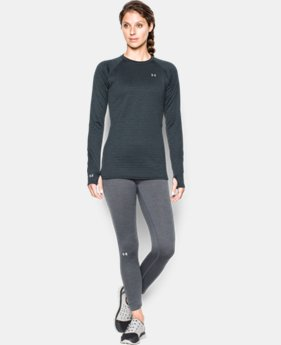 Women's UA Base™ 4.0 Crew Long Sleeve  1  Color Available $84.99