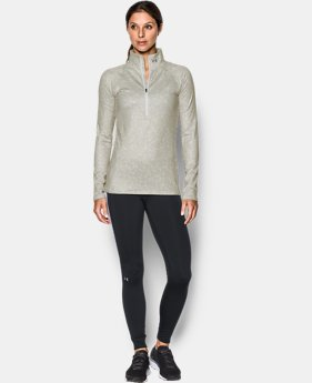 New Arrival  Women's UA ColdGear® Infrared EVO 1/2 Zip  1 Color $56.99