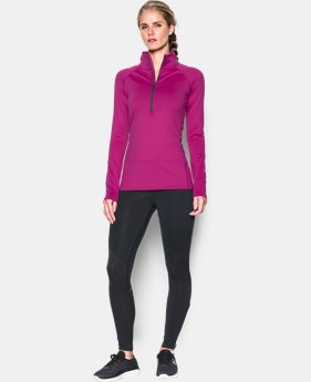 Women's UA ColdGear® Infrared EVO 1/2 Zip  1 Color $74.99