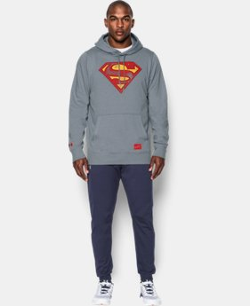 New Arrival  Men's Under Armour® Alter Ego Superman Vintage Hoodie LIMITED TIME: FREE SHIPPING 1 Color $84.99