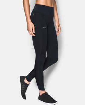 New Arrival  Women's UA Threadborne Coldgear® Leggings  1 Color $89.99