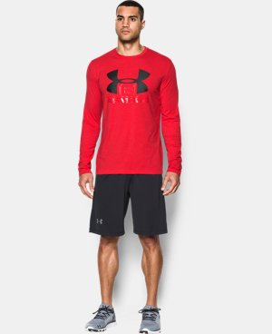 Men's UA Visionary Long Sleeve T-Shirt LIMITED TIME: FREE U.S. SHIPPING 1 Color $20.99
