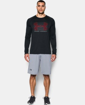 Men's UA Tech™ Rise Up Long Sleeve T-Shirt LIMITED TIME: FREE SHIPPING 1 Color $34.99