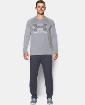 Men's UA Tech™ Rise Up Long Sleeve T-Shirt   $39.99