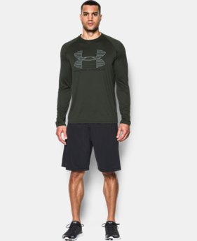 New Arrival  Men's UA Tech™ Rise Up Long Sleeve T-Shirt LIMITED TIME: FREE SHIPPING 3 Colors $39.99