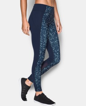 Women's UA Mirror Feathered Marble Leggings   $45.99