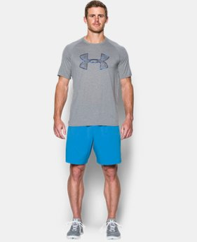 New Arrival  Men's UA Tech™ Scope Camo Logo T-Shirt LIMITED TIME: FREE SHIPPING 3 Colors $32.99