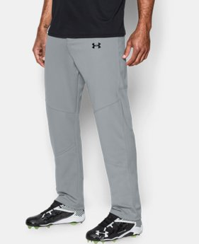 New to Outlet Men's UA Lead Off Baseball Pants  2  Colors Available $23.99