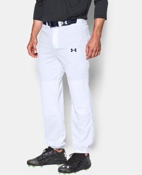 Men's UA Clean Up Cuffed Baseball Pants  1  Color Available $29.99