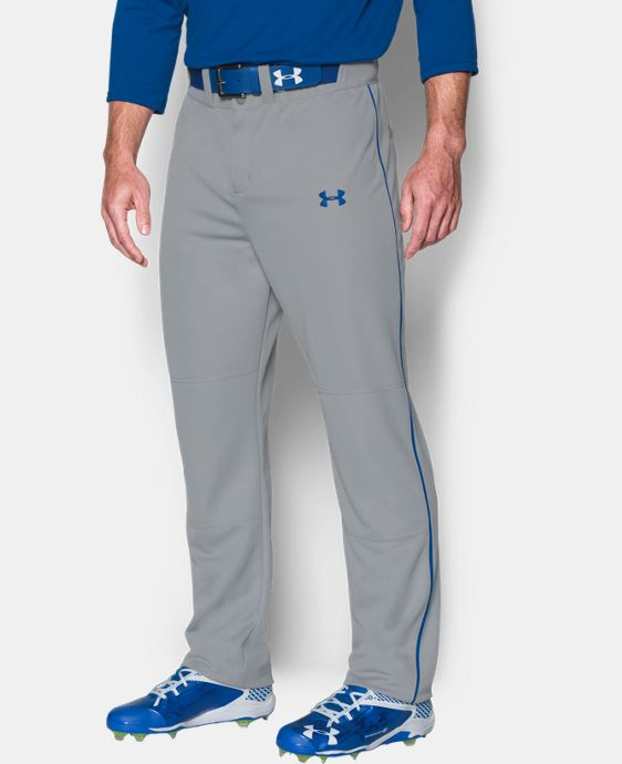 New Arrival  Men's UA Clean Up Piped Baseball Pants  2 Colors $39.99