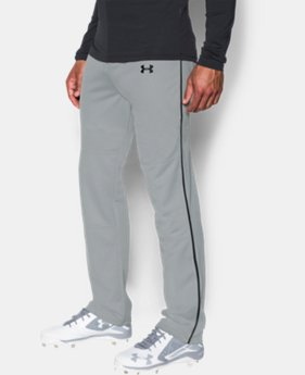 New to Outlet Men's UA Clean Up Piped Baseball Pants  2  Colors Available $20.99