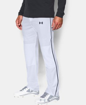 Men's UA Clean Up Piped Baseball Pants  1  Color Available $34.99
