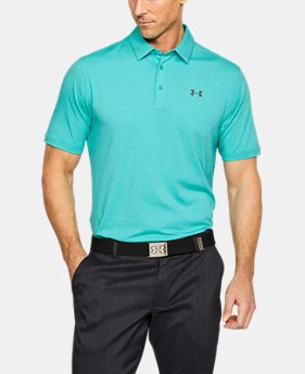 Best Seller Men's Charged Cotton® Scramble Polo  6 Colors $44.99
