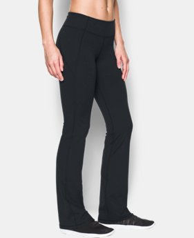 Best Seller Women's UA Mirror Boot Cut Pants  1  Color Available $74.99