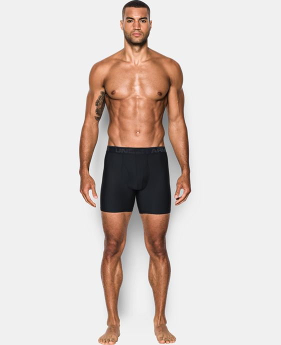 "Men's UA Original Series Cupron® 6"" Boxerjock®  1 Color $34.99"