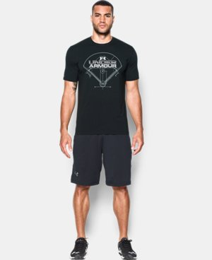 Men's UA Baseball Field T-Shirt   3 Colors $29.99