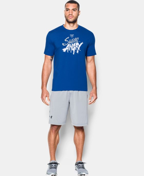 Men's UA Baseball Swing Angry T-Shirt   1 Color $24.99