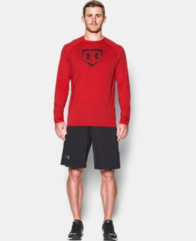 Men's UA Baseball Training Long Sleeve  1 Color $20.99 to $22.49