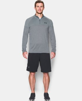New Arrival  Men's UA Tech™ Printed ¼ Zip   $49.99