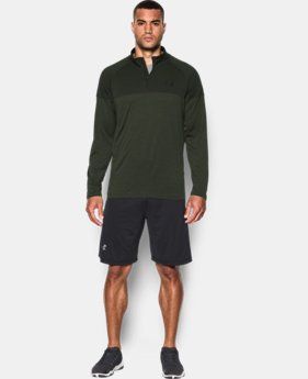 Men's UA Tech™ Printed ¼ Zip  1 Color $33.99