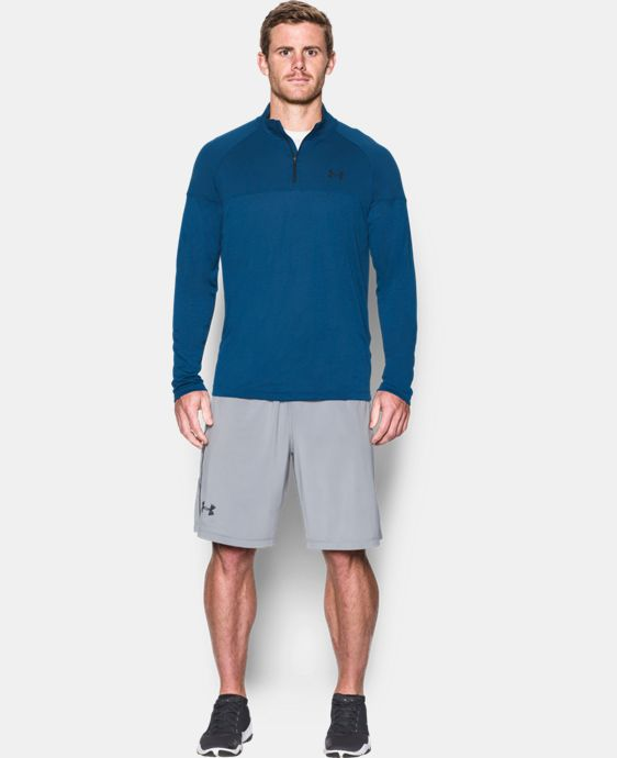 Best Seller  Men's UA Tech™ Printed ¼ Zip LIMITED TIME: FREE SHIPPING 1 Color $49.99