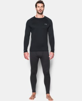 Men's UA Base 1.0 Crew  1 Color $44.99
