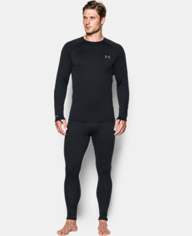 Men's UA Base 3.0 Crew  1 Color $74.99