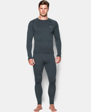 Men's UA Base 3.0 Crew  1 Color $89.99