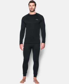 New Arrival  Men's UA Base 4.0 Crew LIMITED TIME: FREE SHIPPING 2 Colors $99.99