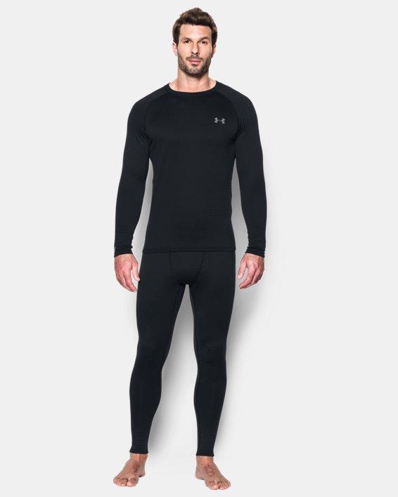 Men's UA Base™ 2.0 Leggings, Black, pdpMainDesktop image number 2