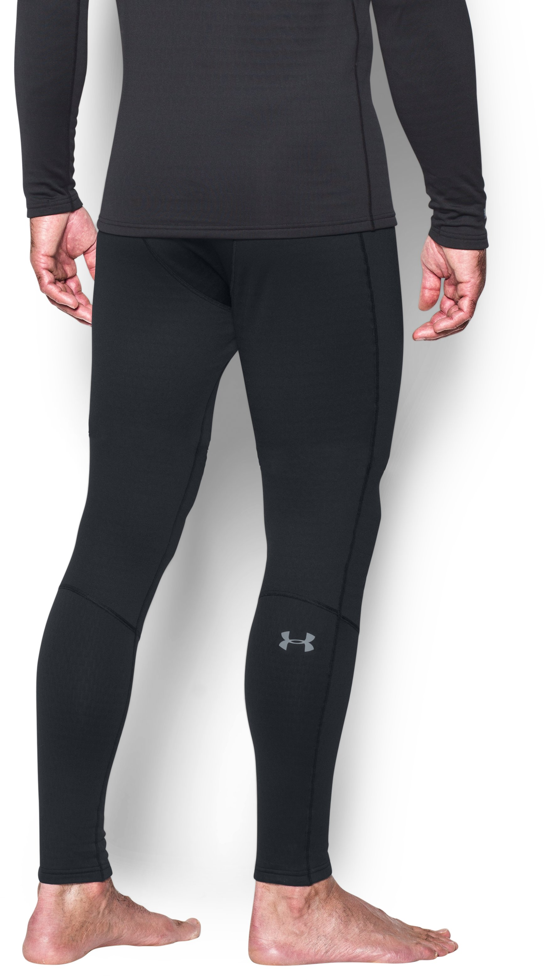Men's UA Base™ 4.0 Leggings, Black , undefined